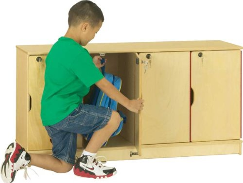 Jonti-Craft 4688JC Stacking Lockable Lockers, Single Stack
