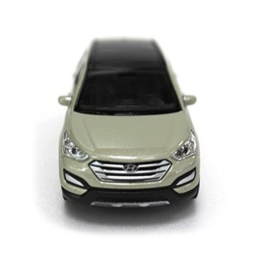 ([Sell by Automotiveapple] Hyundai Brand Collation Mini Car 1:38 Scale Unique Miniature Diecast Model 1-pc For 13 14 Hyundai Santa Fe SPORT : DM (Mistic Beige))