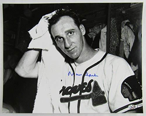 - Warren Spahn Autographed Photograph - 11x14 I - Autographed MLB Photos
