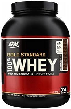 Optimum Nutrition Proteínas de Suero en Polvo, Sabor a Fresa - 2270 gr