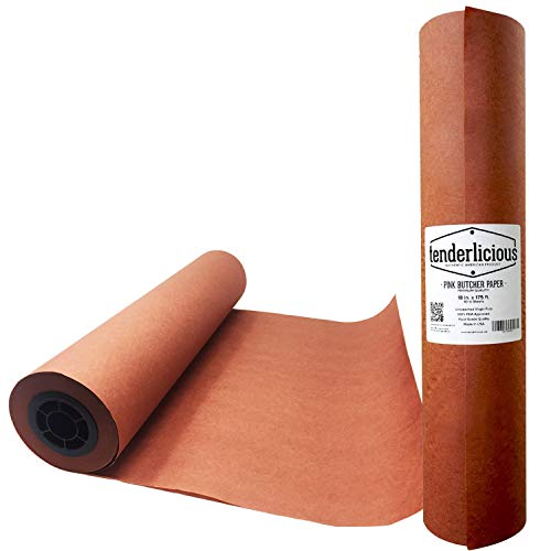 Pink Butcher Kraft Paper Roll - 18