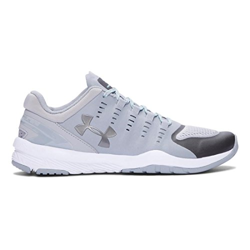 Under Gray Charged Overcast da Armour Women's Metallic Corsa SS16 Scarpe White Pewter Stunner ffrAqzT