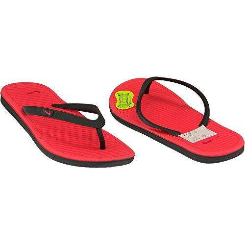 Nike - Solarsoft Thong 2 GS - 631726002 - Farbe: Rot-Schwarz - Größe: 29.5