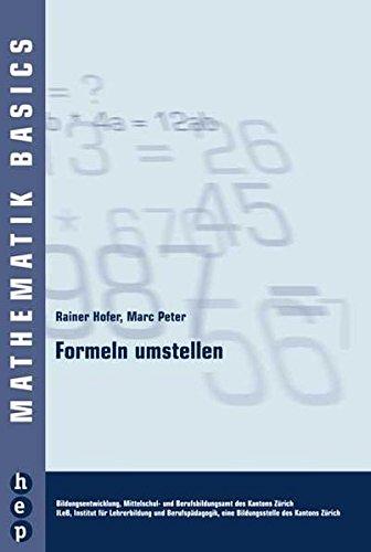 Download Formeln Umstellen Pdf By Rainer Hofer Ebook Or Kindle