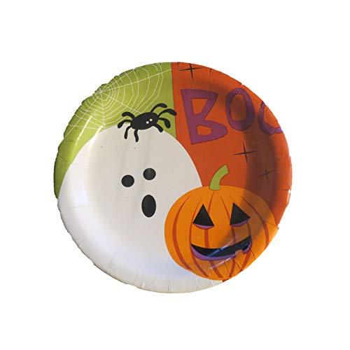 Boo Halloween Snack Plate 7
