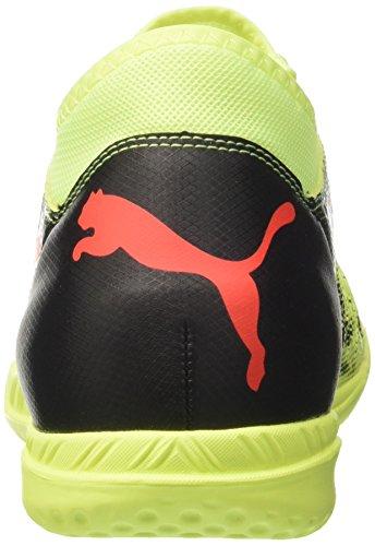 Yellow 4 18 Herren Future Black Fizzy Puma puma red Blast IT Fußballschuhe Gelb 1qpOx8x