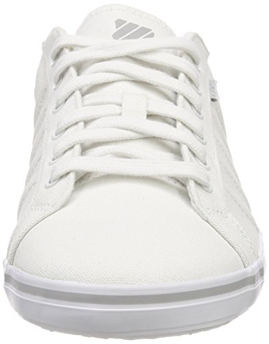K-Swiss Mens 03015-413-M_T Low-Top White (White/Gull Gray/Whtie 148) fzYi93KOLt