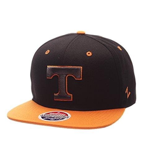 - Zephyr NCAA Tennessee Volunteers Adult Men's Z11 Phantom Snapback Hat, Adjustable Size, Black/Team Color