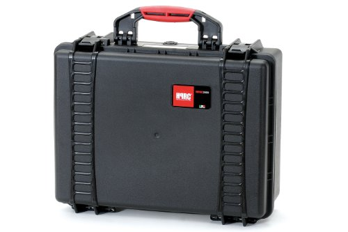 HPRC 2500F Hard Case with Cubed Foam (Black) ()