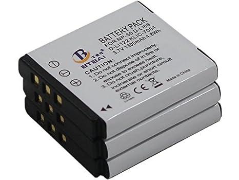 S10 Akku Ladegerät für Pentax Optio A40 Q VS20 Q7 Q10 Q-S1 D-Li68
