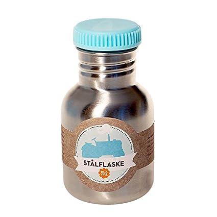Niños Botella Acero Inoxidable de Blafre turquesa Tapa ...
