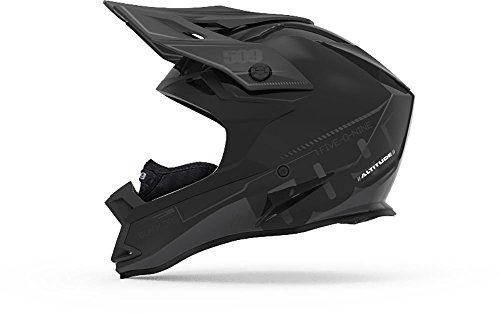 509 Altitude Helmet - Black Ops with Fidlock (2018) - (Focus Off Road Helmet)