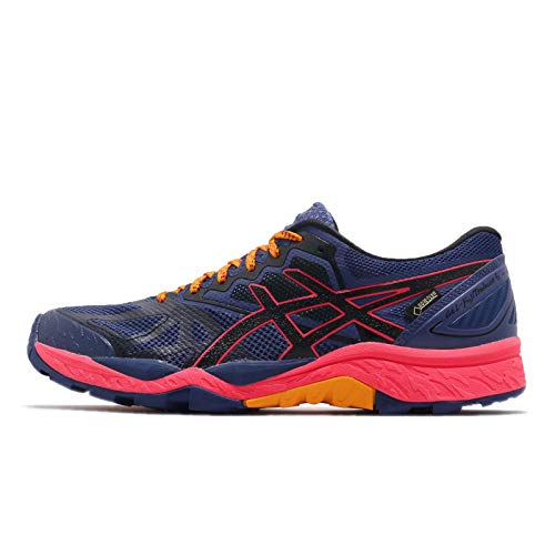 Price comparison product image ASICS Women's Gel-Fujitrabuco 6 G-TX,  Blue Print / Black,  7 B(M) US