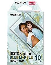 Fujifilm Instax Mini Marble Blue Film (10 Exposures)