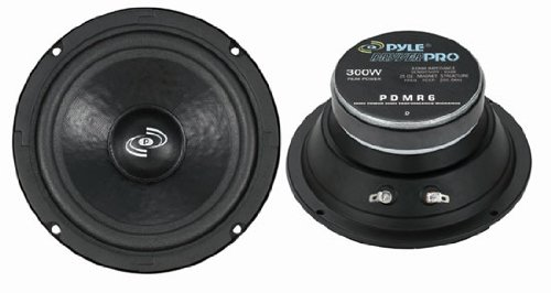 Pyle PDMR6 6.5-Inch High Performance Midrange Speaker