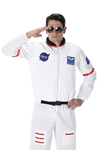 Mater Costume For Adults - Male Astronaut - Halloween Costume (S)
