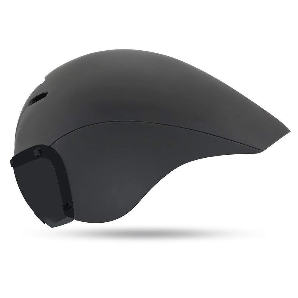 Mountain Bike Helmet Ultralight Adjustable MTB Cycling Bicycle TT Helmet Men Women Sports Outdoor Safety Helmet with Vents (55-61cm) (Color : Gray)
