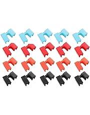 Chopstick Helper Houders -Chopstick Helper Houders Plastic Training Chopstick Dults Training Eetstokjes Herbruikbare Chopstick Helper Voor Volwassenen Beginner Trainers Of Leerling - 20 Stuks