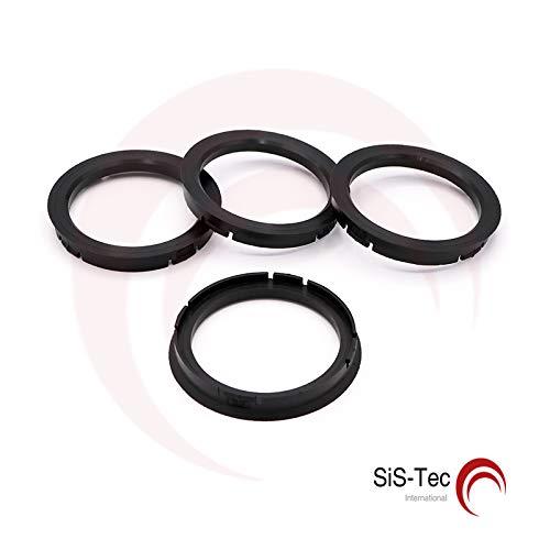 Anillos de Centrado Distancia Anillo Llantas 73, 0 X 60, 1 mm fz49 (4 unidades) 0X 60 1mm fz49(4unidades) SiS-Tec