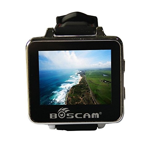 """FEICHAO BOSCAM BOS200RC 5.8GHz 32CH FPV Watch HD 960240 2"""" TFT Monitor Wireless Receiver for DIY Drone RC Helicopter"""