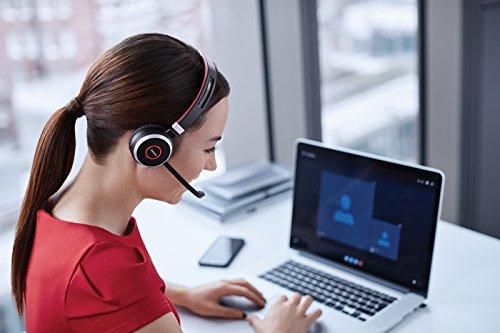 Jabra 65 UC stereo Bluetooth Headset - Black by Jabra (Image #5)