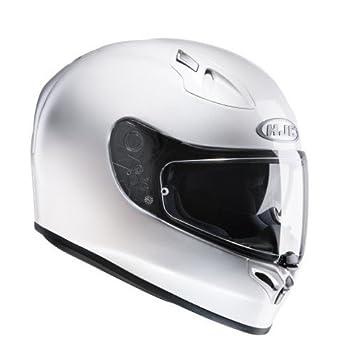 HJC 12702906 Casco de Moto, Blanco Perlado, Talla XS