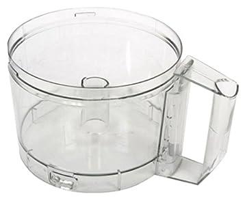 Magimix Food Processor Bowl Jug Clear Lid Chute 17308 Cuisine Systeme 4100 5100
