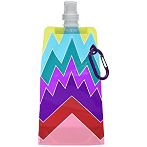 Vapur 10156 - Reflex Runway .5L Water Bottle (Downtown Angles Purple/Red)