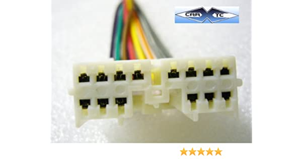 stereo wire harness oem mitsubishi mirage 97 98 99 01 (car radio wiring insta Mitsubishi Mirage Radio Wiring
