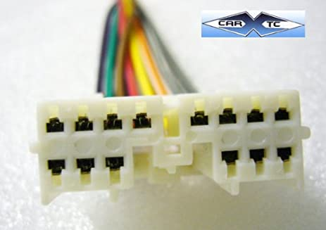 amazon com stereo wire harness oem mitsubishi galant 98 1998 car rh amazon com Kenwood KDC-X794 Wiring Harness Mitsubishi Wiring Harness Schematic