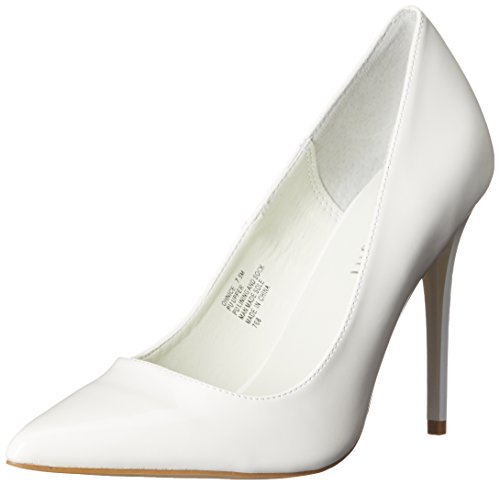 White Women's Dress Patent OHNICE Pump girl madden q4U5xXW