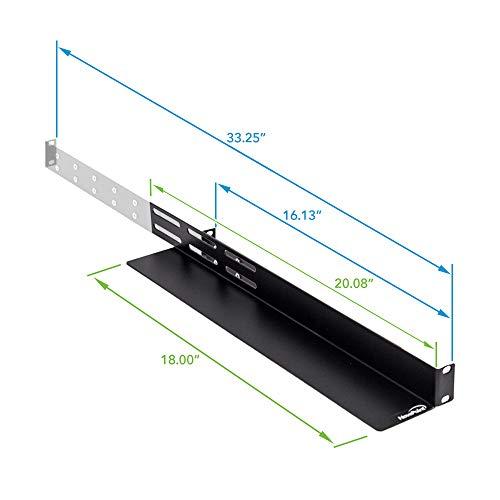 19 rack rails