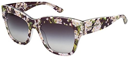 Dolce and Gabbana 4231 28428G Black Peach Flowers 4231 Almond Flowers - Dolce Sunglasses Gabbana Mens 2014 And