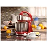 Appliances-Stand Mixer-Classic 4 Qt. Stand Mixer by Hamilton Beach®-Color Red
