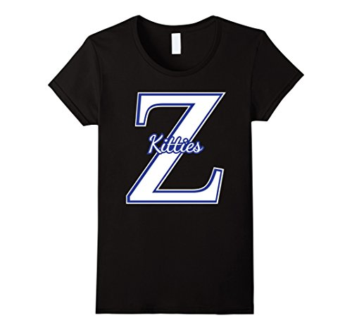 Beta Black T-shirt (Women's Zeta Phi Beta - Z Kitty So Sweet 1920 Z Phi Howard Shirt Medium Black)