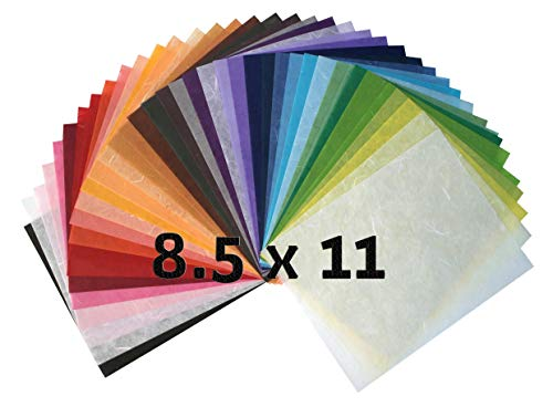 Fiber Homemade Japanese paper Design origami Craft Pack Assortment Multi-Color Rainbow Color handmade arts and crafts tissue paper design paper sheets hand made washi paper making for card Fiber paper