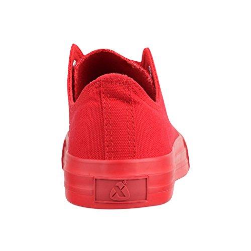 para colour Zapatillas Rot one mujer Elara 6TqAn5TB
