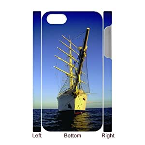 W-K-E-R8028338 3D Art Print Design Phone Back Case Customized Hard Shell Protection Iphone 4,4S