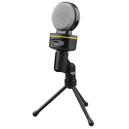 Jeystar SF-930 Professional Condenser Sound Microphone With Stand for PC Laptop Skype Recording by Jeystar (Image #4)