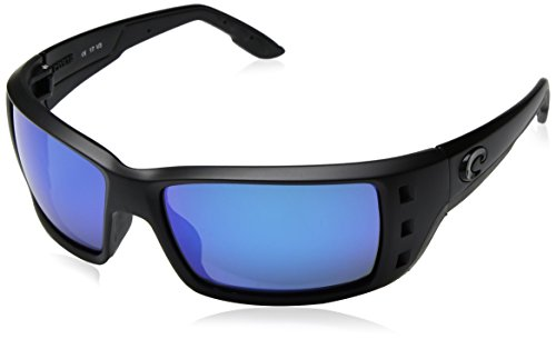 Costa Del Mar Permit 580G Permit, Blackout Blue Mirror, Blue ()
