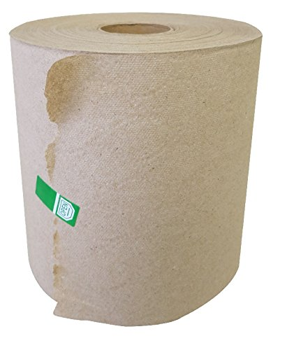 Greensoft HRTK6800 Paper Hand Towel Roll Kraft, Dispenser Compatible, 100% Recyclable, 7.75