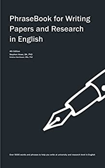 PhraseBook for Writing Papers and Research in English (English Edition) de [Howe, Stephen, Henriksson, Kristina]