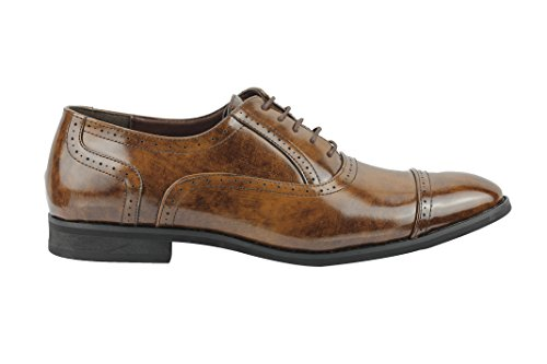 Xposed marrón Vestir hombre de Zapatos IOTrWEwqIx