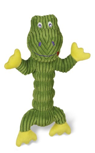 Charming Corduroy Zonkers Gator Pet Squeaky Toy Review