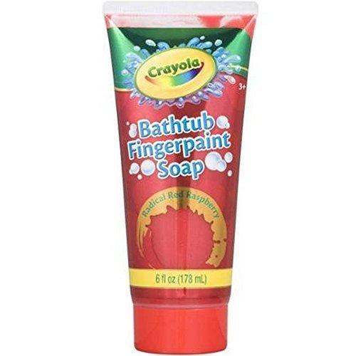 Crayola Bathtub Fingerpaint Soap,Colors May Vary 6 oz (Pack of 6) - Crayola Bathtub