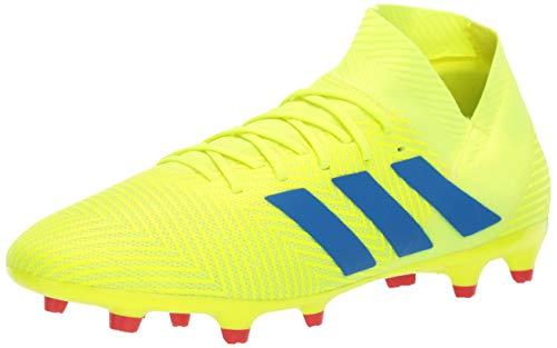 adidas Men's Nemeziz 18.3 Firm Ground, Solar Yellow/Football Blue/Active red, 11.5 M US