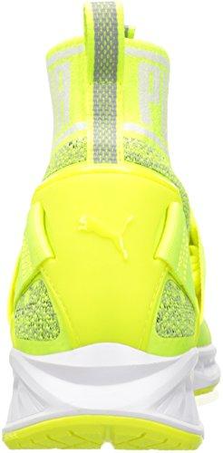 Chaussures Ignite Evoknit Cross-trainer Pour Homme, Jaune Sécurité / Blanc Puma / Cava, 5 M Us