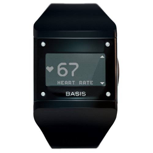 Basis Health Tracker for Fitness, Sleep & Stress - Black (Discontinued By Manufacturer)