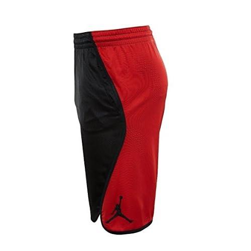 9d7bc24c0d7f Nike Jordan Men s Victory Flight Basketball Shorts AA5581-011 Team Red Black