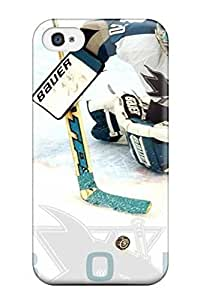 meilinF000Pretty DOTRDPy7574NEARQ ipod touch 4 Case Cover/ San Jose Sharks Hockey Nhl (14) Series High Quality CasemeilinF000